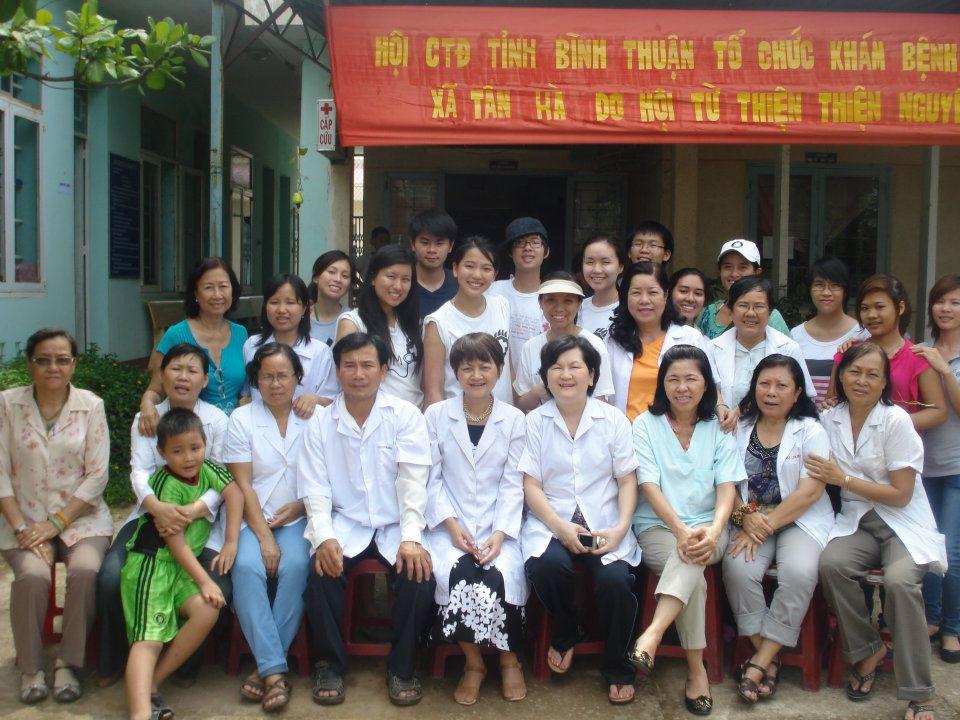 VMO and doctor volunteers.